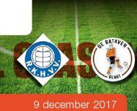 Match tussen De Bataven en RKHVV.