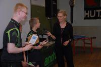 Bettine Vriesekoop enthousiast over tafeltennistalent 3