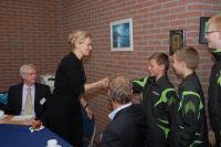 Bettine Vriesekoop enthousiast over tafeltennistalent 14