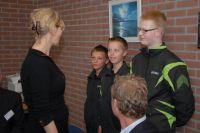 Bettine Vriesekoop enthousiast over tafeltennistalent 13